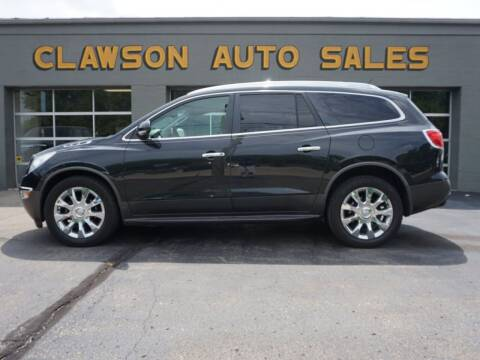 2012 Buick Enclave for sale at Clawson Auto Sales in Clawson MI