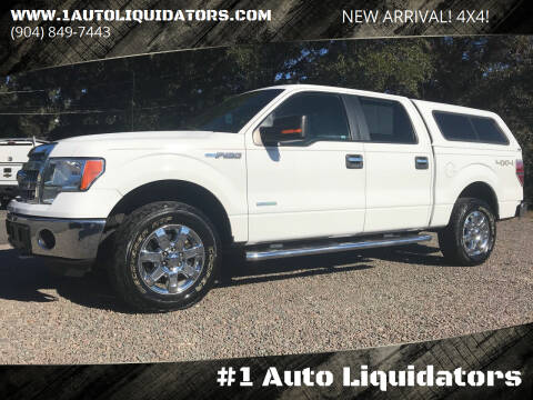 2013 Ford F-150 for sale at #1 Auto Liquidators in Yulee FL