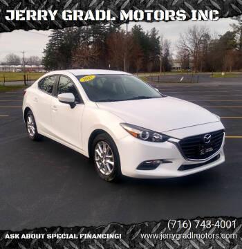 2017 Mazda MAZDA3 for sale at JERRY GRADL MOTORS INC in North Tonawanda NY