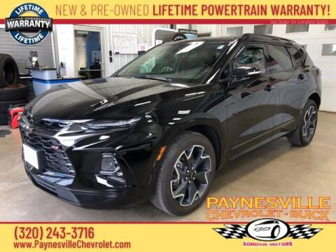 2019 Chevrolet Blazer for sale at Paynesville Chevrolet Buick in Paynesville MN