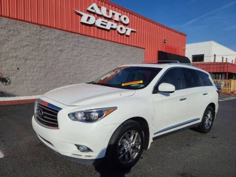 2015 Infiniti QX60 for sale at Auto Depot of Madison in Madison TN