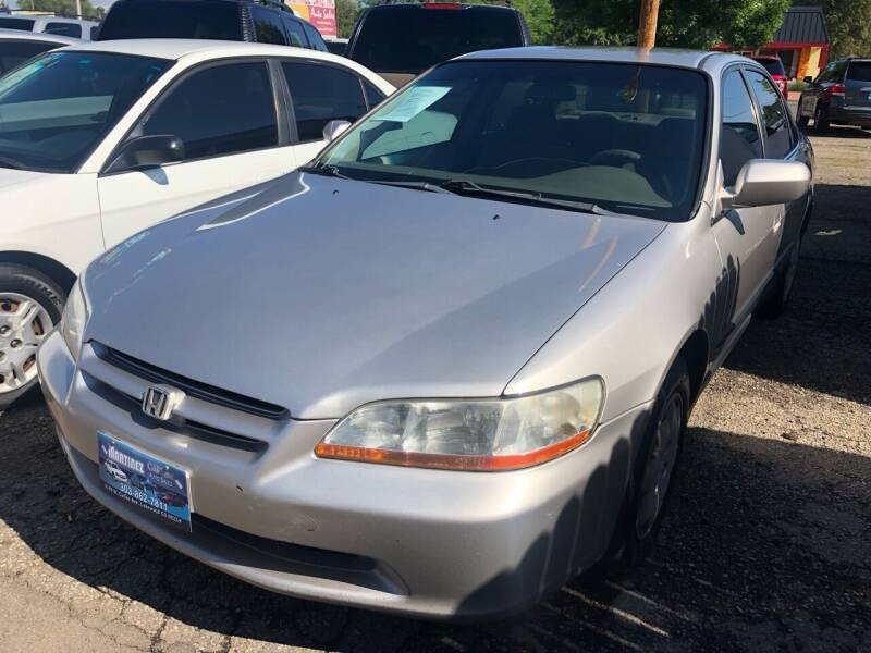 1999 Honda Accord for sale at Martinez Cars, Inc. in Lakewood CO