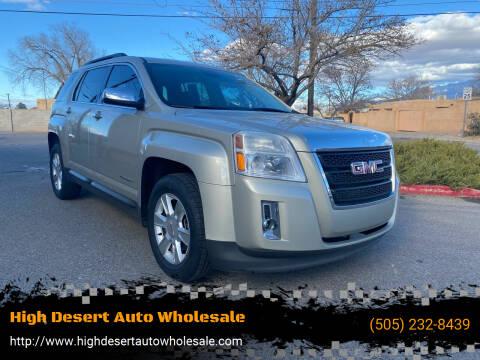 2013 GMC Terrain for sale at High Desert Auto Wholesale in Albuquerque NM