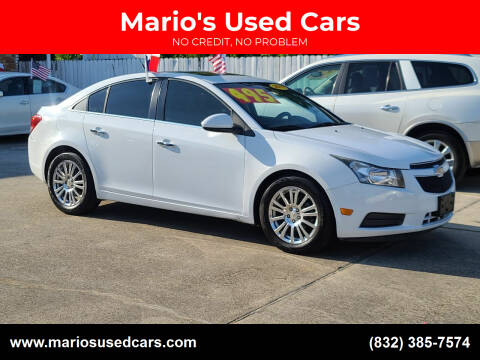 2011 Chevrolet Cruze for sale at Mario's Used Cars - South Houston Location in South Houston TX