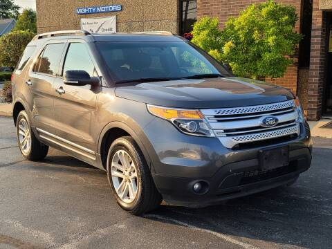 2015 Ford Explorer for sale at Mighty Motors in Adrian MI