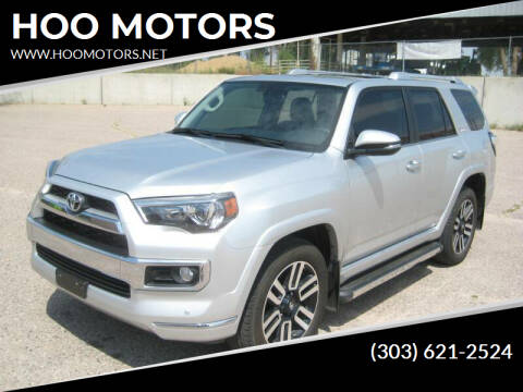 2016 Toyota 4Runner for sale at HOO MOTORS in Kiowa CO