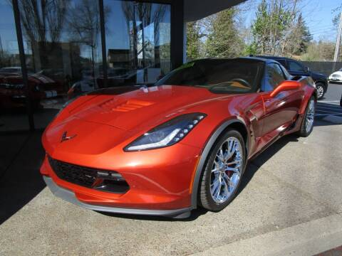 2015 Chevrolet Corvette for sale at LULAY'S CAR CONNECTION in Salem OR