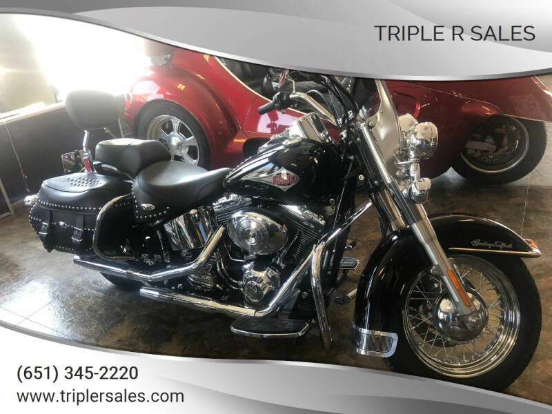 2001 Harley-Davidson Heritage Softail  for sale at Triple R Sales in Lake City MN