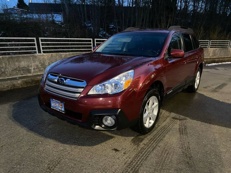 2013 Subaru Outback for sale at Zipstar Auto Sales in Lynnwood WA
