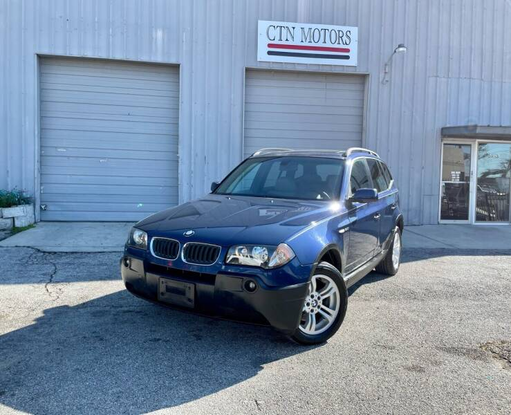 2005 BMW X3 for sale at CTN MOTORS in Houston TX