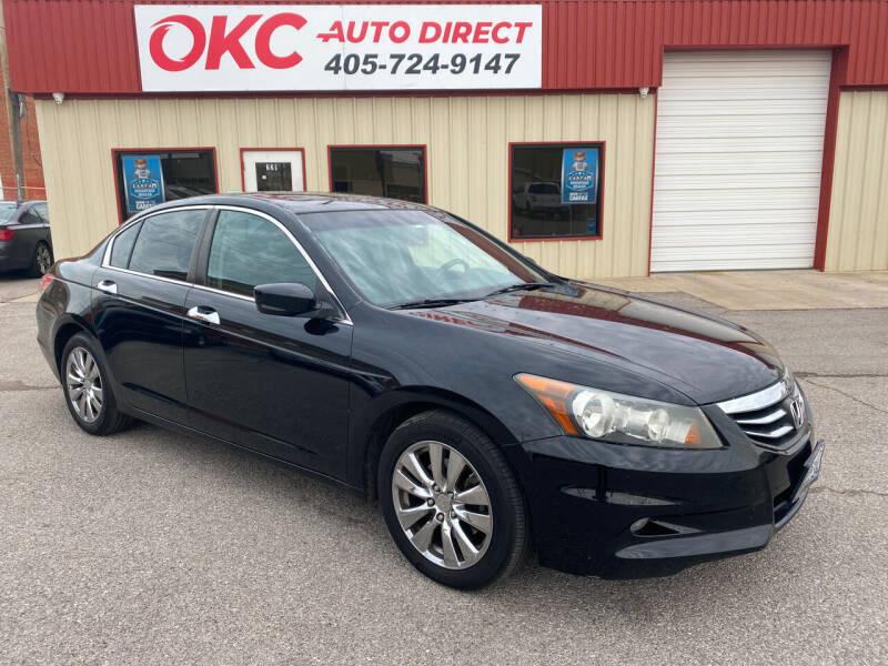 2012 Honda Accord for sale at OKC Auto Direct, LLC in Oklahoma City OK