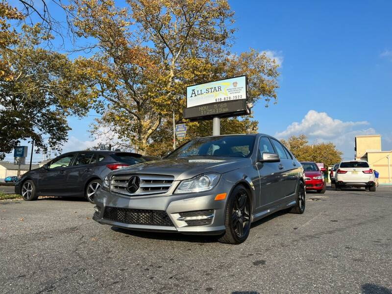 2013 Mercedes-Benz C-Class for sale at All Star Auto Sales and Service LLC in Allentown PA