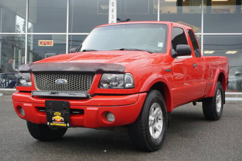 2002 Ford Ranger for sale at West Coast Auto Works in Edmonds WA