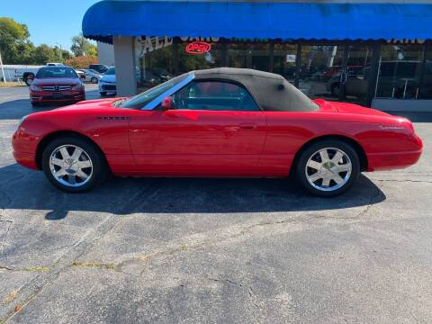 2002 Ford Thunderbird for sale at ASAC Auto Sales in Clarksville TN