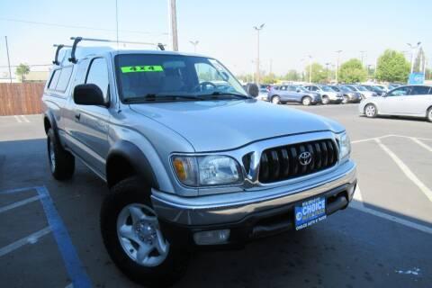 2003 Toyota Tacoma for sale at Choice Auto & Truck in Sacramento CA