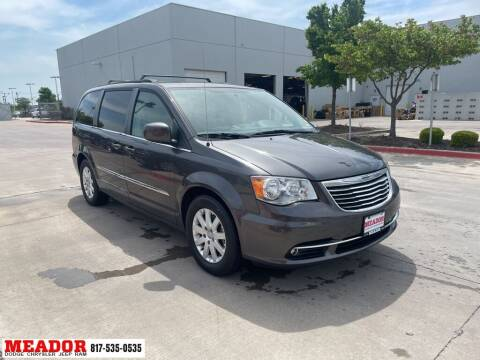 2015 Chrysler Town and Country for sale at Meador Dodge Chrysler Jeep RAM in Fort Worth TX
