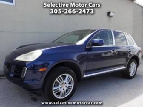 2008 Porsche Cayenne for sale at Selective Motor Cars in Miami FL