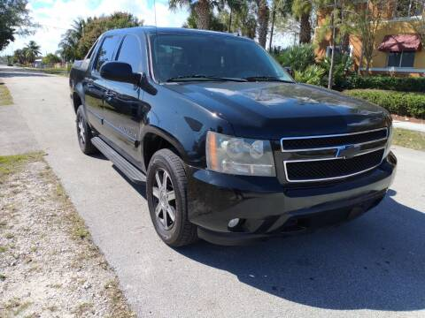 2008 Chevrolet Avalanche for sale at LAND & SEA BROKERS INC in Deerfield FL