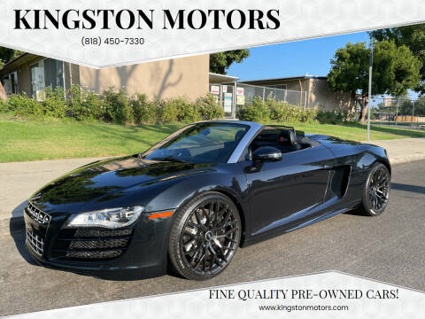 2012 Audi R8 for sale at Kingston Motors in North Hollywood CA