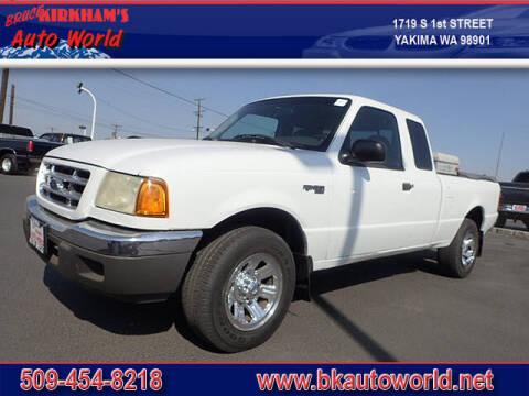 2001 Ford Ranger for sale at Bruce Kirkham Auto World in Yakima WA