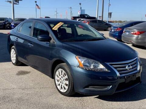 2014 Nissan Sentra for sale at Stanley Automotive Finance Enterprise - STANLEY DIRECT AUTO in Mesquite TX