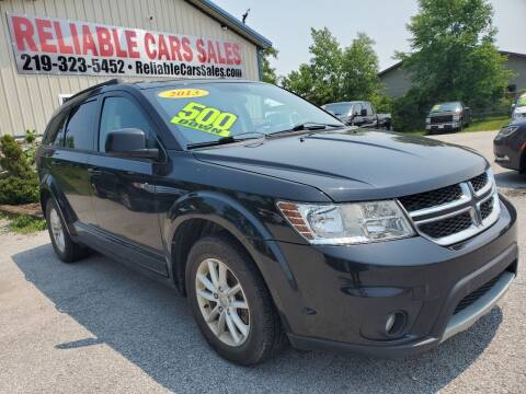 2013 Dodge Journey for sale at Reliable Cars Sales in Michigan City IN