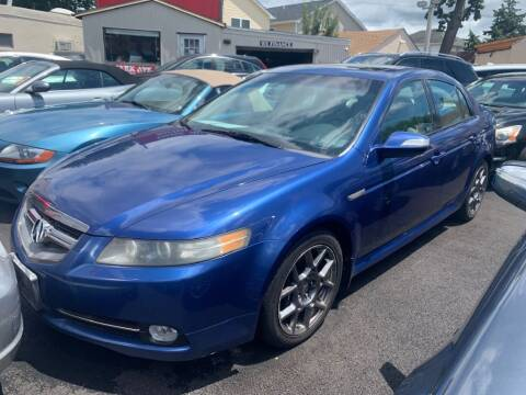2007 Acura TL for sale at Park Avenue Auto Lot Inc in Linden NJ
