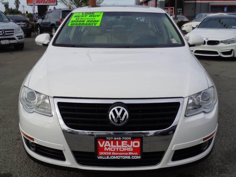2010 Volkswagen Passat for sale at Vallejo Motors in Vallejo CA