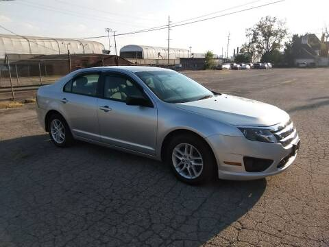 2012 Ford Fusion for sale at Eddie's Auto Sales in Jeffersonville IN
