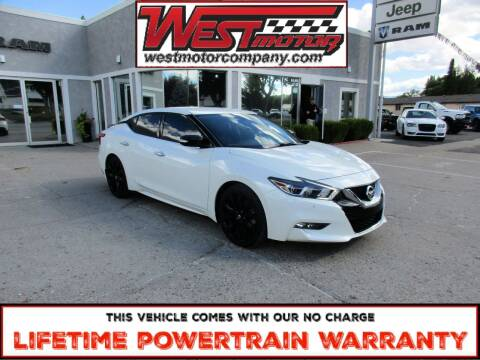 2017 Nissan Maxima for sale at West Motor Company in Preston ID