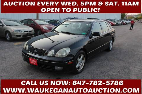 1998 Lexus GS 400 for sale at Waukegan Auto Auction in Waukegan IL