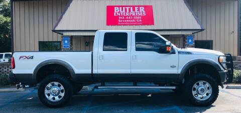 2016 Ford F-350 Super Duty for sale at Butler Enterprises in Savannah GA