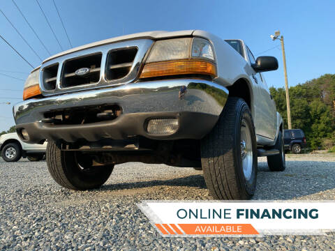1999 Ford Ranger for sale at Prime One Inc in Walkertown NC