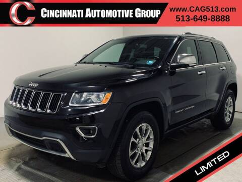 2015 Jeep Grand Cherokee for sale at Cincinnati Automotive Group in Lebanon OH