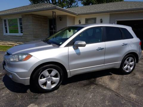 2008 Acura RDX for sale at CALDERONE CAR & TRUCK in Whiteland IN