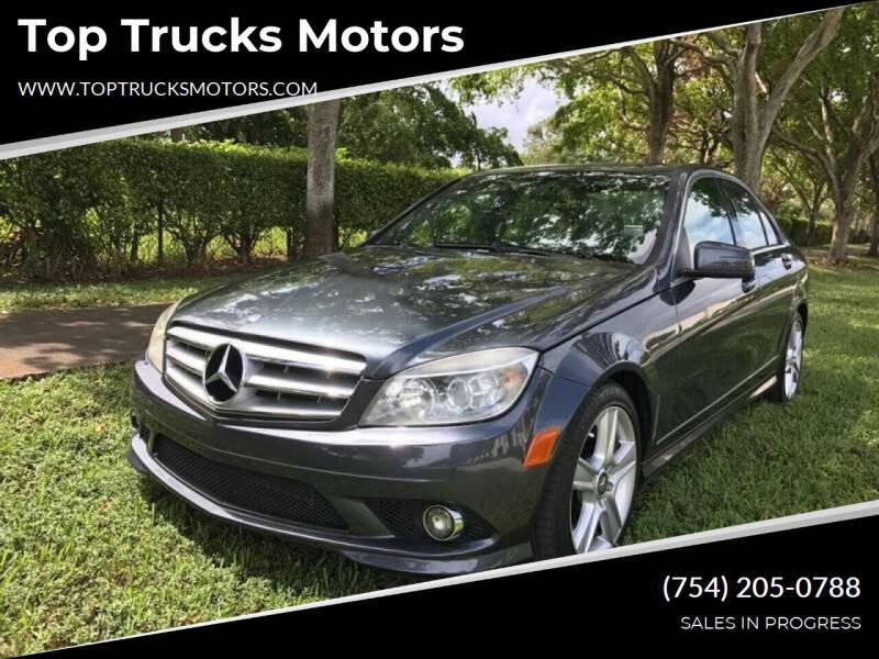 2010 Mercedes-Benz C-Class for sale at Top Trucks Motors in Pompano Beach FL
