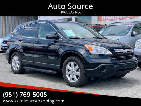 2007 Honda CR-V for sale at Auto Source in Banning CA