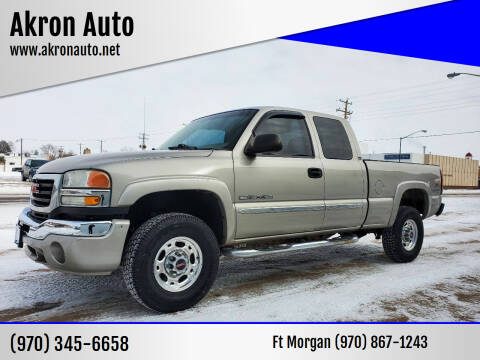2006 GMC Sierra 2500HD for sale at Akron Auto in Akron CO