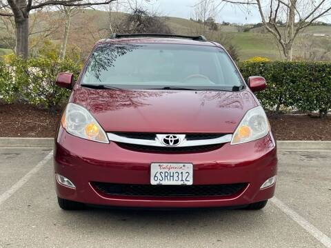 2008 Toyota Sienna for sale at CARFORNIA SOLUTIONS in Hayward CA
