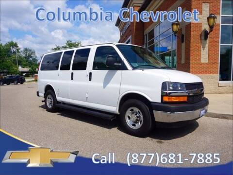 2018 Chevrolet Express Passenger for sale at COLUMBIA CHEVROLET in Cincinnati OH