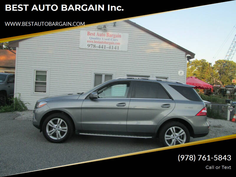 2014 Mercedes-Benz M-Class for sale at BEST AUTO BARGAIN inc. in Lowell MA