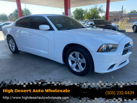 2014 Dodge Charger for sale at High Desert Auto Wholesale in Albuquerque NM