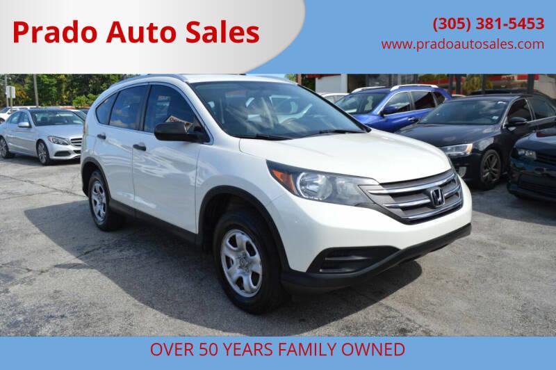 2014 Honda CR-V for sale at Prado Auto Sales in Miami FL