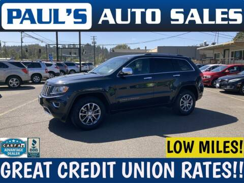 2014 Jeep Grand Cherokee for sale at Paul's Auto Sales in Eugene OR
