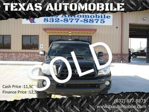 2005 Toyota Tacoma for sale at TEXAS AUTOMOBILE in Houston TX