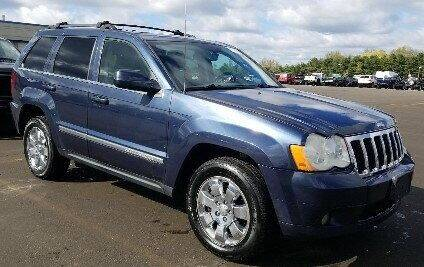 2008 Jeep Grand Cherokee for sale at Angelo's Auto Sales in Lowellville OH