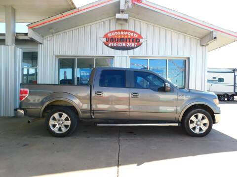 2013 Ford F-150 for sale at Motorsports Unlimited in McAlester OK