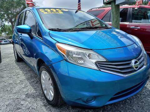 2016 Nissan Versa Note for sale at AFFORDABLE AUTO SALES OF STUART in Stuart FL