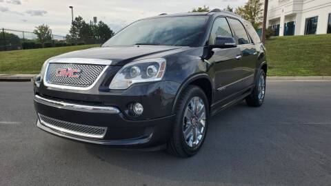 2011 GMC Acadia for sale at Aren Auto Group in Sterling VA