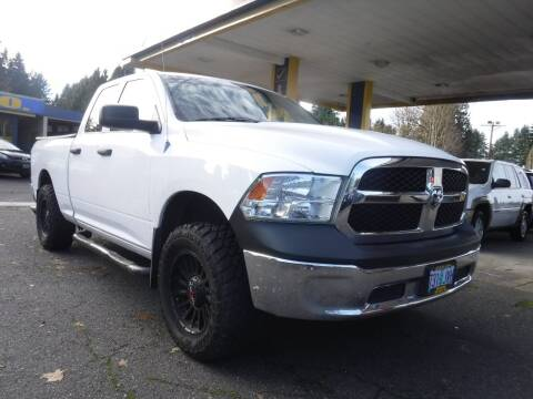2013 RAM Ram Pickup 1500 for sale at Brooks Motor Company, Inc in Milwaukie OR